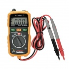 "HYELEC MS8232 Pocket Digital 1.8"" LCD Multimeter w/ NCV - Black + Yellow"