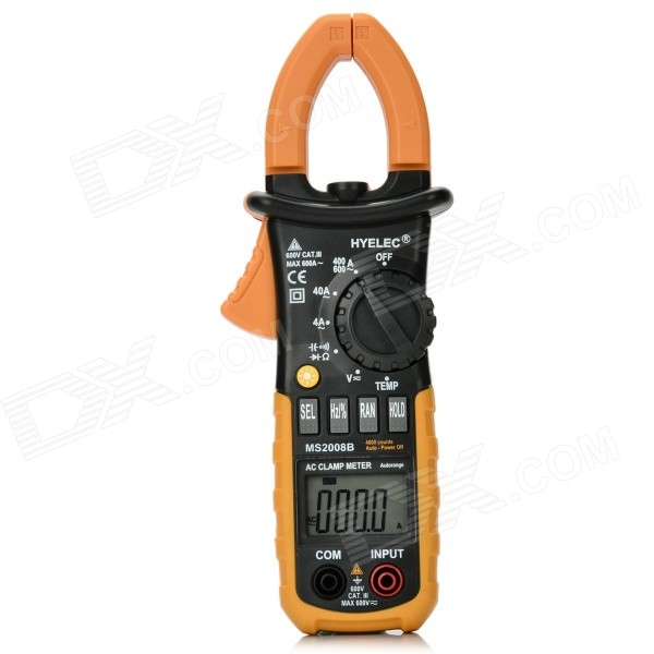 HYELEC MS2008B 4000 Counts Digital Clamp Meter