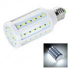 E27 12W LED Lamp Bulb Cold White Light 60-5730 SMD 7400K 800lm - White (AC 110~130V)