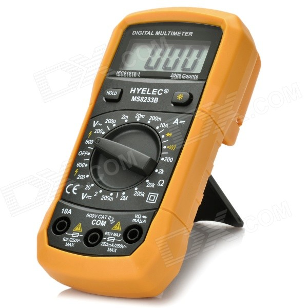 "HYELEC MS8233B 1,8"" LCD digital multimeter"