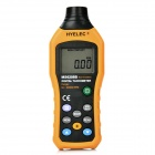 "HYELEC MS6208B Digital 1.7"" LCD Non-Contact Tachometer - Black + Yellow (4 x AAA)"
