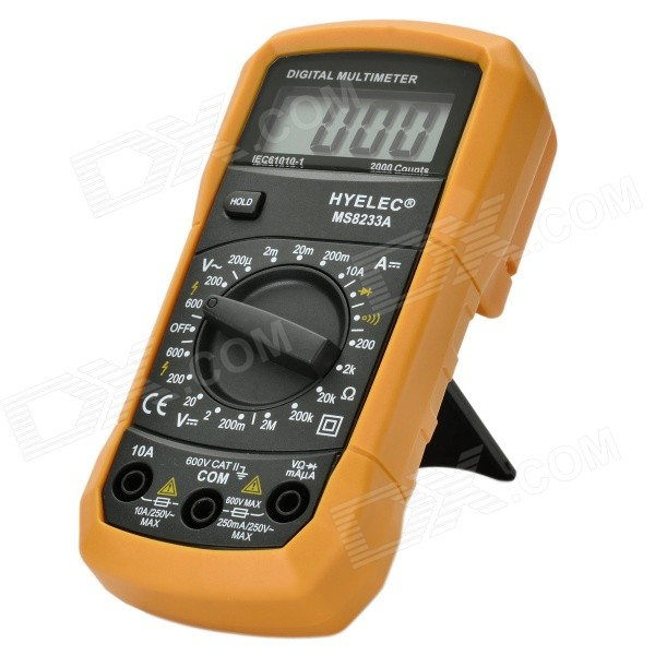 "HYELEC MS8233A Digital 1.8"" LCD Multimeter"