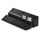 Dobe TP4-006 USB 3.0 + 4-Port USB 2.0 hub extender for PS4 - musta
