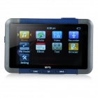 "3.0"" Mirror Screen MP5 Player w/ TF / FM / 4GB Memory - Black + Blue"