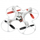 JJR/C JJ-1000P Mini 2.4GHz 4-CH 6-axis Gyro R/C Quadcopter BNF - Red
