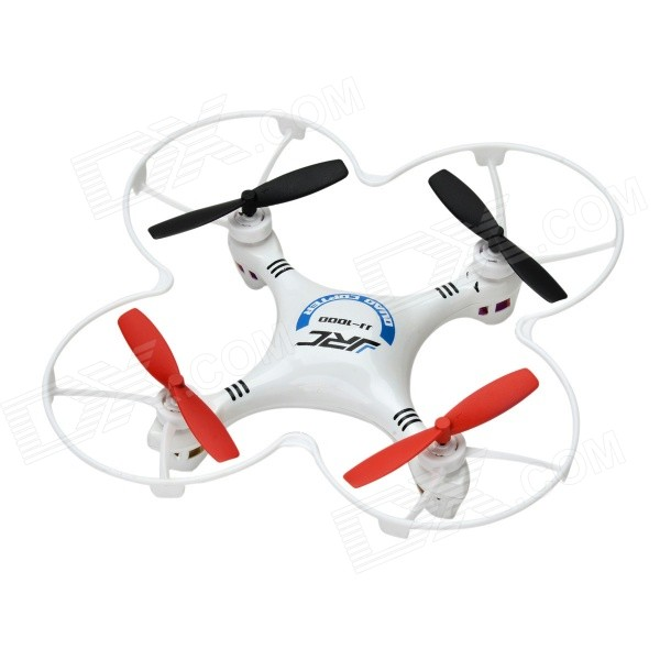 JJR / C JJ-1000P Мини 2,4 ГГц 4-CH 6-осевой гироскоп R / C Quadcopter BNF - Синий