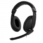 Mingo HD Stereo Gaming Headset w/ Microphone for PS4 / Mobile Devices - Black (3.5mm Plug)