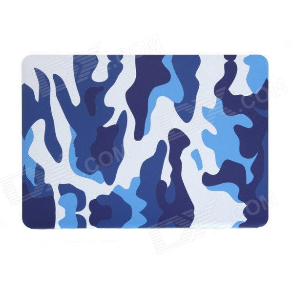 "Camouflage PC Cover Case for 13.3"" APPLE MACBOOK AIR - Blue + White"