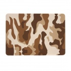 Camouflage Pattern Protective PC Cover Case for APPLE MacBook Air - Brown + White