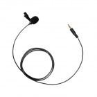 BOYA BY-LM10 Omni Directional Lavalier Microphone for IPHONE / Samsung / LG / HTC One - Black