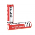 UltraFire 3.7V 18650 1400mAh Lithium ion Rechargeable Batteries - Red (2 PCS)