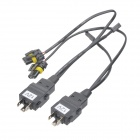 35W 12V Light Control Cable Kit for H4 High / Low HID Car Light
