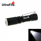 UltraFire XR-E R2 1-LED 280lm 3-Mode Cool White Light Zooming Mini Flashlight - Black (1 x 14500)