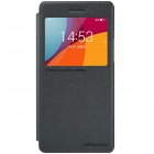 NILLKIN Protective PU Leather + PC Flip Open Case w/ View Window for  OPPO R1C / R1X - Black