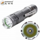 ZHISHUNJIA 1307XPE LED 3-Mode Cool White Flashlight - Grey (1*14500)