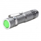 ZHISHUNJIA 1307XPE LED 3-Mode Cold White Flashlight - Grey (1*14500)