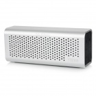 SLANG 6W Hi-Fi Bluetooth V3.0 Hands-free Rechargeable Speaker w/ TF / AUX / Micro USB - Silver
