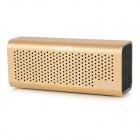 SLANG 6W Hi-Fi Bluetooth V3.0 Hands-free Rechargeable Speaker w/ TF / AUX / Micro USB - Golden
