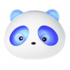 Panda Type Style Fashion Perfume Tuyere Adornment / Air Freshener - Blue + White