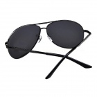 UV400 Protection Resin Lens Polarized Sunglasses - Black