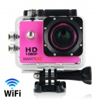 "Smartron Wi-Fi  1.5"" TFT 170 Degree FHD 1080p Waterproof Action Sport Digital Video Camera - Pink"