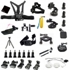 40-in-1 Outdoor Sports Accessories Kit for Gopro Hero 4 / 3+ / 3 / 2 - Black