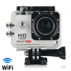 "Smartron Wi-Fi  1.5"" TFT 170 Degree FHD 1080p Waterproof Action Sport Digital Video Camera - Silver"