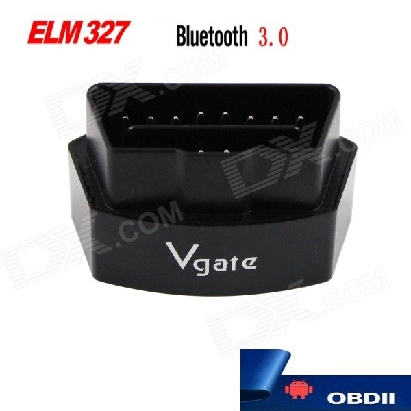 Vgate Bluetooth 3.0 V2.1 Vehicle OBD-II Code Scanner - BlackCode Readers and Scan Tools<br>Form  ColorBlackModelicar3-BQuantity1 DX.PCM.Model.AttributeModel.UnitMaterialABSScreen SizeN/A DX.PCM.Model.AttributeModel.UnitVersionOthers,V2.1FunctionRead trouble codes,Check Engine Light (MIL)Readparam Engine RPM,Vehicle SpeedWireless BluetoothYesTransmit Distance5~10 DX.PCM.Model.AttributeModel.UnitDiagnose Interface16pinSupported LanguagesEnglishSmartphone Brand SupportedSamsungApplication SupportedSmartphoneSoftware Platform SupportedAndroidProtocols SupportedISO15765-4 (CAN),ISO14230-4 (KWP2000),ISO9141-2,J1850 VPW,J1850 PWMOutput ProtocolRS232 serial portIndicator LEDsRS232 transmitBaud Rate38400 DX.PCM.Model.AttributeModel.UnitCompatible MakeBMW,Honda,Toyota,VW,Benz,Hyundai,Buick,Audi,Ford,Volvo,Chevrolet,UniversalWorking Voltage   12 DX.PCM.Model.AttributeModel.UnitWorking Current30 DX.PCM.Model.AttributeModel.UnitPacking List1 x iCar3aOBD Diagnosis tool (Bluetooth 3.0)1 x CD1 x English manual<br>