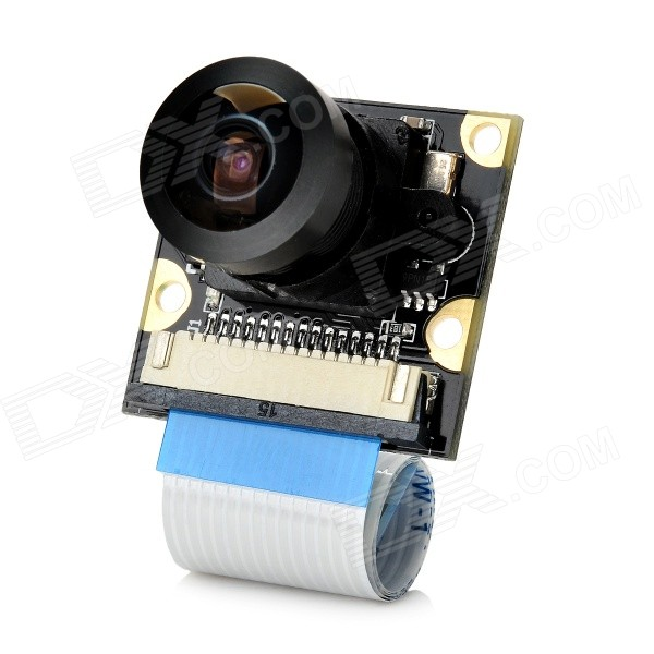 Waveshare Fisheye Wide Angle Focus Adjustable Camera + IR LED Kit