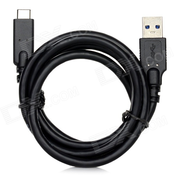 USB 3.0 Male to USB 3.1 Type-C Male Data Cable - Black (1m)Laptop/Tablet Cable&amp;Adapters<br>Form  ColorBlackQuantity1 DX.PCM.Model.AttributeModel.UnitShade Of ColorBlackMaterialABS + copperInterfaceUSB 3.0,Others,USB 3.1TypeLaptopsPacking List1 x Data cable<br>