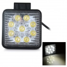 27W impermeável wired carro LED bulbo luz branca 6000K 900lm (10 ~ 30V)
