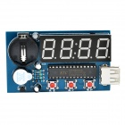 High Precision DS3231 4-Digit LED Clock Module - Blue (1 x CR2032)
