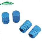 Automobile Tire Tread Valve Caps - Blue(4 PCS)