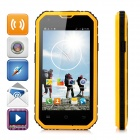 "NO.1 M2 4.5"" Android 5.0 Quad-Core MTK6582 Waterproof Smartphone w/ 1GB RAM, 8GB ROM - Orange"