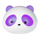 Panda Style Fashionable Perfume Tuyere Adornment / Air Freshener - White + Purple (Pair)