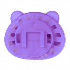 Panda Style Perfume Tuyere Adornment / Air Freshener - White + Purple