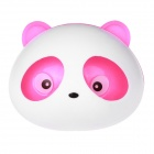 Panda Style Fashionable Perfume Tuyere Adornment / Air Freshener - White + Pink (Pair)