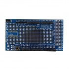 MEGA2560/1280 Proto Shield + Bread Board for Arduino - Blue