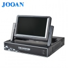 "JOOAN JA-3714 H.264 4-Channel DVR with 7"" Screen HDMI and P2P LCD DVR (EU Plug)"