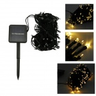 IN-Color IN-100 2W Solar Powered Warm White Light 100-LED String Light