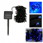 IN-Color IN-100 2W Solar Powered Blue Light 100-LED String Light