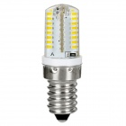 exLED E14 3W 200lm 3000K 64-SMD 3014 LED Warm White Bulb (AC110V/220V)