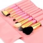 MAKE-UP FOR YOU 10-in-1 Cosmetic Makeup Brush Tools Set - Pink