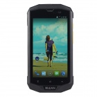 "MANN ZUG 5S Android 4.4 MSM8926 Quad Core Waterproof Phone w/ 5.0"", 8GB ROM, 4GLTE - Black + Silver"