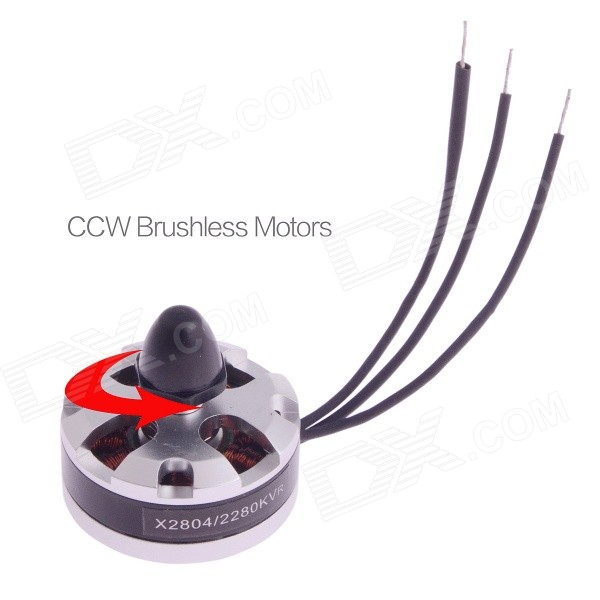 X2804 KV2280 Motor Brushless para MiNi R / C Quadcopters / CCW Thread