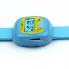 RQ QR-01 Children Positioning Smart Watch w/ SOS, GPS, LBS - Blue