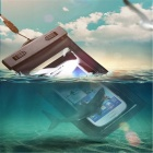 "Waterproof Armband Bag Pouch w/ Strap for 4.5""~5.5"" Phone - Multicolor"
