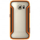 NILLKIN Protective PC + TPU Bumper Frame Case for Samsung Galaxy S6 Edge -  Orange + Black