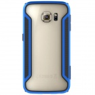 NILLKIN Protective PC + TPU Bumper Frame Case for Samsung Galaxy S6 Edge - Blue + Black