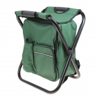 NEW-HW2 Multi-functional Mountaineering Bag Fishing Stool - Green